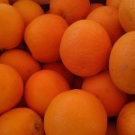 Orange navel  2.50€ le kilo et +3kg:2.20€ le kilo