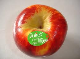 Pomme Juliet  et pink lady France 3.80€ le kilo